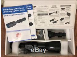 Atn 4k Pro X-sight 3-14x Ultra Numérique De Vision Nocturne + Torche Ir850