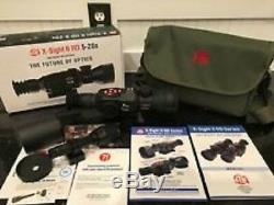 Atn 5-20x85mm X-sight II Hd Numérique Intelligent De Vision Nocturne + Ir Torch