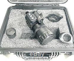 Atn Ots-x S650 (640x480) Thermique Monoculaire Numérique Avec Lentilles De 50 MM Et 14 MM