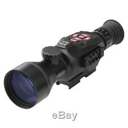 Atn X-sight II Numérique Rifle Scope Smart Hd Night Vision Dgwsxs520z Nouveau