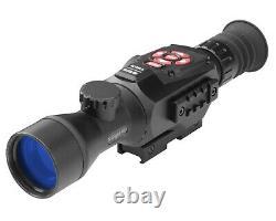 Atn X-sight II Smart Hd Digital Night Vision 3-14x Rifle Scope Avec Batterie