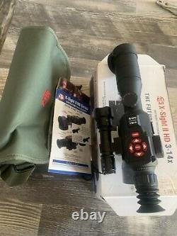Atn X-sight II Smart Hd Vision De Nuit Numérique 3-14x Rifle Scope Dgwsxs314z