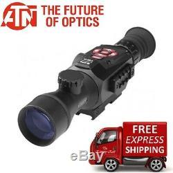 Atn X-sight Numérique Hd II Intelligente Vision Nocturne 5-20x Rifle Scope Dgwsxs520z