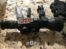 Atn X-vue 4k Hd II 5-20x Rifle Numérique Tir Portée De Vision Nocturne D'enregistrement