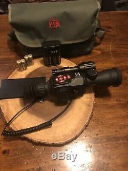 Atn X-vue II Hd Numérique Intelligent De Vision Nocturne 3-14x Portée De Fusil Avec Batterie