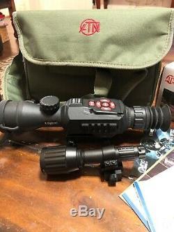 Atn X-vue II Hd Numérique Intelligent De Vision Nocturne 3-14x Rifle Scope Dgwsxs314z