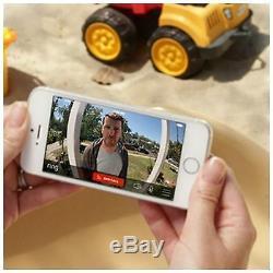 Bague Sans Fil Caméra Vidéo Sonnette Sonnette Chime Intercom Wifi Kit 2 Bouton