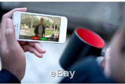 Bague Sans Fil Porte Avant Caméra Vidéo Sonnette Sonnette Chime Intercom Wifi Kit