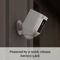 Bague Spotlight Cam Batterie Hd Caméra De Sécurité Avec 2-way Construit Talk Et Siren