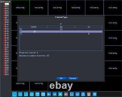 Barlus 32ch/1080p, 25ch/5mp, 8ch/4k Support Vidéo Réseau Nvr Entrée/sortie Audio