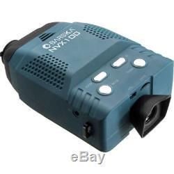 Barska 3x Lunette D'optique Monoculaire Avec Vision Nocturne Numérique Avec Étui, Bq12388