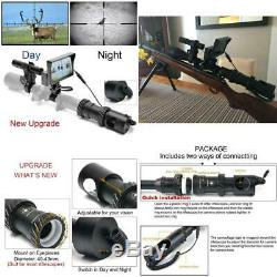 Bestsight Diy Numérique De Vision Nocturne Pour Fusil De Chasse Avec Caméra 5 Port