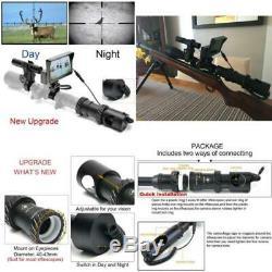 Bestsight Upgrade Diy Scope De Vision Nocturne Numérique Pour La Chasse Au Fusil Avec Hd