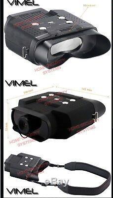 Binocular Night Vision 8 Go Monoculaire De Chasse Lunettes Numérique Nv Caméra Jeu