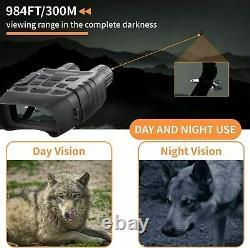 Bnise Digital Night Vision Jumelles Pour Adultes Jour Et Nuit Utilisation Infrarouge Salut