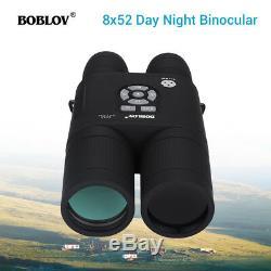 Boblov 8x52 Optique Infrarouge De Vision Nocturne Numérique Binocular Telescope 640480