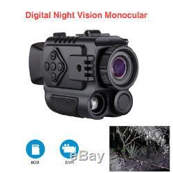 Boblov P4 Vision Nocturne Zoom Numérique 5x Portée Infrarouge 200yards Visible