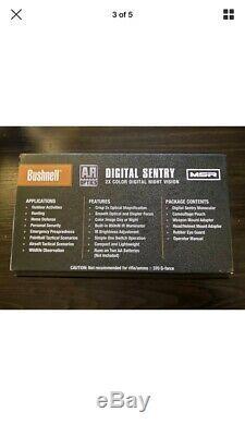 Bushnell Digital Sentry Ar Optique 2x Couleur Vision Nocturne Nouveau Dans La Boîte