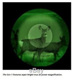 Bushnell Equinox 2x28mm Monoculaire / Jumelles De Vision Nocturne Numérique 2x 28mm Nouveau