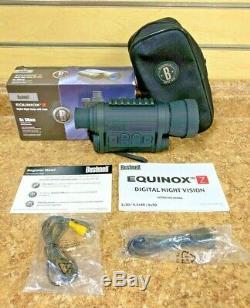 Bushnell Equinox Z 260150 6x50 Numérique De Vision Nocturne Neufs Fs Bin