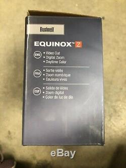 Bushnell Equinox Z 3 X 30mm Numérique De Vision Nocturne