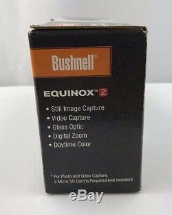Bushnell Equinox Z Digital Vision Nocturne Portée Avec Le Mont
