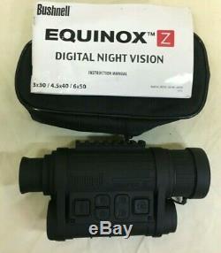 Bushnell Equinox Z Numérique De Vision Nocturne