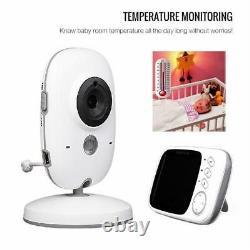 Camara Y Audio Para Bebe Baby Monitor Night Vision Écran LCD 2 Voie Talk 8