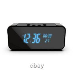 Caméra D'alarme Numérique Sans Fil Wifi Haut-parleur Bluetooth Ultra Hd 4k