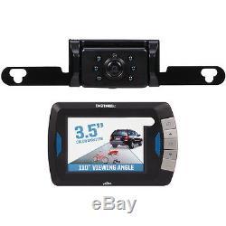 Caméra De Recul Peak Digital Sans Fil Avec Moniteur LCD Couleur Et Vision Nocturne