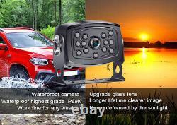 Caméra De Sauvegarde Numérique Sans Fil Avec Vision Nocturne 7 Moniteurs Pour Camion Rv