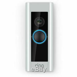 Caméra De Sécurité Vidéo Sans Fil Ring Ring Doorbell Pro 1080p Hd Avec Vision Nocturne