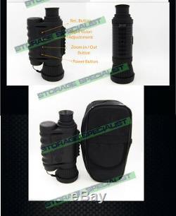 Caméra De Vision Nocturne Monoculaire Numérique 32go Jumelles Sécurité Enregistreur Optique