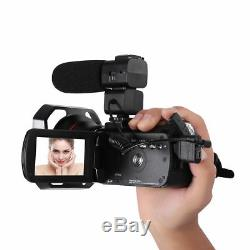 Caméra Numérique De Vision Nocturne Ordro Ac3 4k 24mp Wifi + Objectif Grand Angle + Microphon