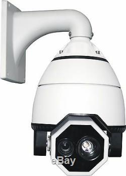 Caméra Ptz Vitesse 7 Dôme 700tvl 360x Zoom Extérieur Fill Light Ir 650ft Ac24v 360a