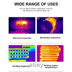 Caméra Thermique Numérique Imager Ir Thermomètre Infrarouge Image Vision Nocturne