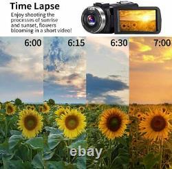 Caméra Vidéo 4k Ultra Hd Camcorder 48.0mp Ir Night Vision Digital Camera (v4)