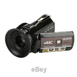 Caméra Vidéo Numérique DV Avec Caméscope Numérique Ordro Ac3-ips 4k Wifi Hd Hd Night Vision 3.0 30x