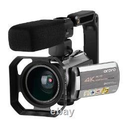 Caméra Vidéo Numérique Uhd 4k