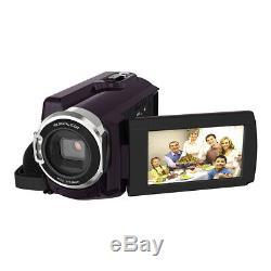 Caméscope Numérique DV Andoer Wifi 4k Ultra Hd 1080p 48mp 16x Zoom 3