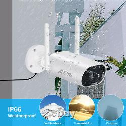 Cctv Home Security Camera System Wireless 1296p 8ch 1 To 5mp Nvr Outdoor Audio Ir