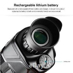 Chasse De Portée De Télescope Monoculaire De 200m De Vision Nocturne Infrarouge De Digital 5x40mm De Nuit