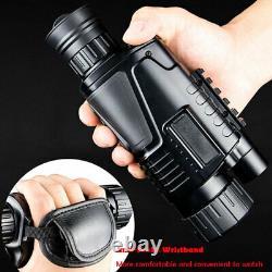 Chasse Numérique De Vision Nocturne Telescope Caméra Ir Portable Vidéo Enregistrer Un Monoculaire