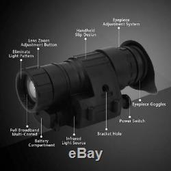 Chasse Numérique Infrarouge Ir Monoculaire Night Vision Telescope Dispositif Pour Casque