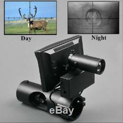 Chasse Optique Red Dot Sight Rifle Scopetactical Numérique Lnfrared Vision Nocturne U