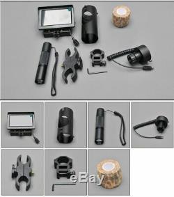 Chasse Vision Nocturne Tactique Riflescope Portée Adaptateur Numérique Infrarouge Thermique