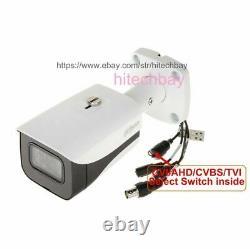 Dahua 4k Starlight Hac-hfw2802e-a 8mp Hdcvi Ir Bullet Caméra Cctv MIC CVI 3.6mm