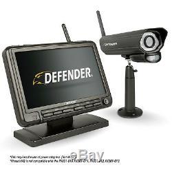 Defender Digital Wireless 7 Moniteur De Sécurité Dvr Et Caméra De Vision Nocturne