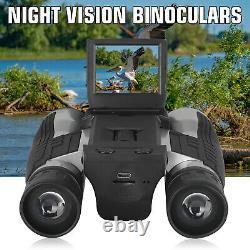 Digital 12x Binocular Telescope Caméra Vidéo LCD Zoom Record Screen Night Vision