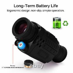 Digital Hd Infrared Night Vision Scope Ir Monoculaire Device Outdoor Hunting E4w0